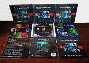 Dreamwalkers Inc - A Night At The Theatre - Digipack presentation!